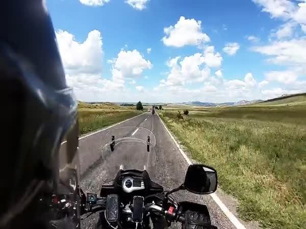 Na motorce východní Evropou za 10 dní