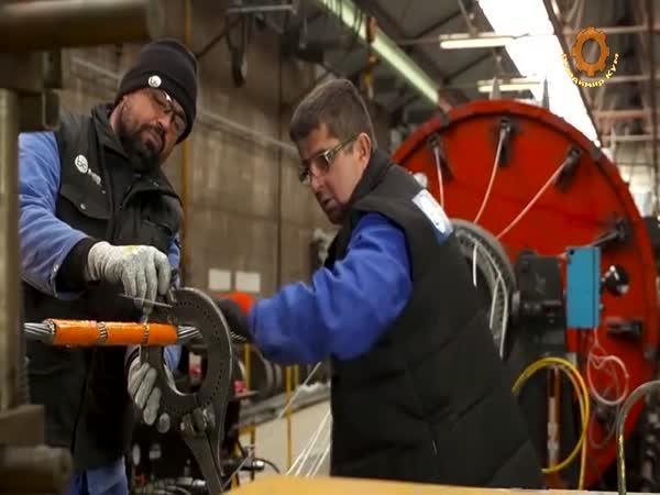 Výroba a pletení ocelového lana