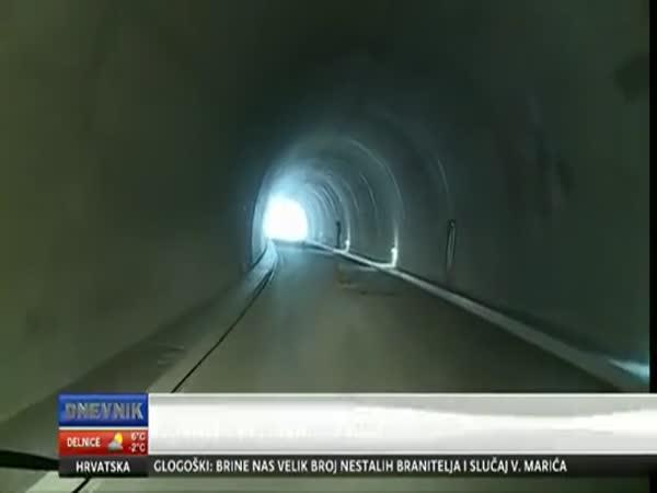 Postavili tunel do neznáma