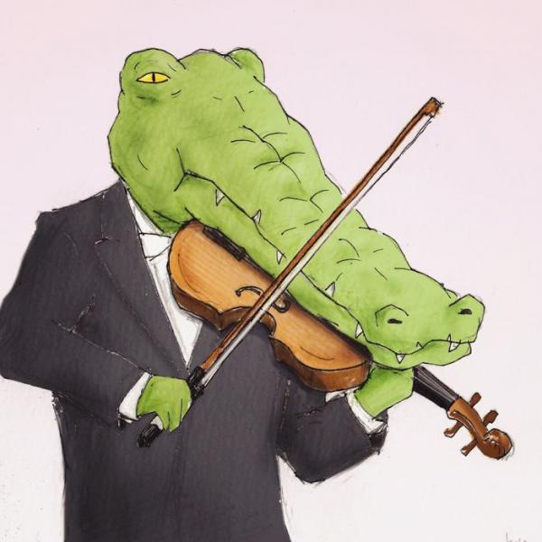 GALERIE - Vtipné problémky krokodýlů
