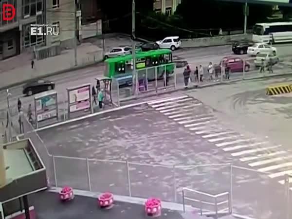 Dopravní nehoda v Rusku #627