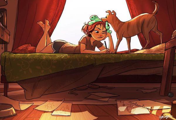 GALERIE - Ilustrace života se psem #2