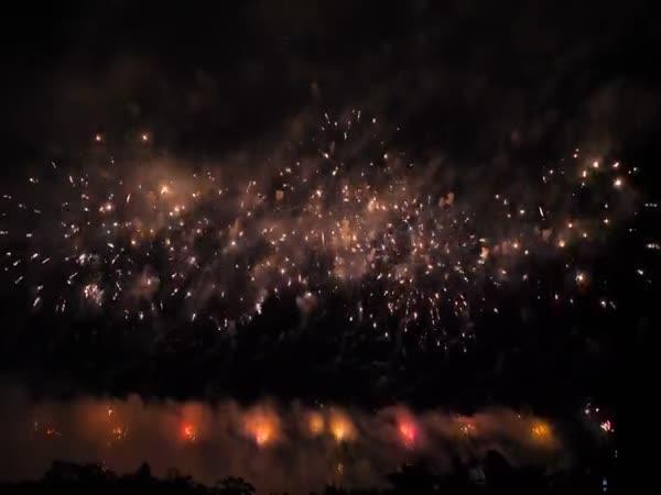 Japonský festival ohňostrojů 2018