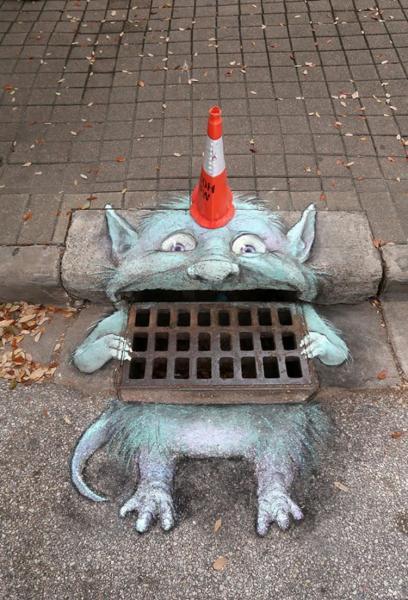 GALERIE – Dokonalý streetart