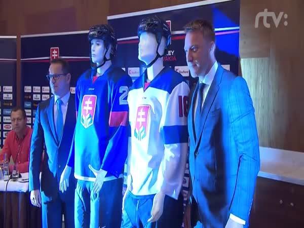 Nové logo slovenských hokejistů