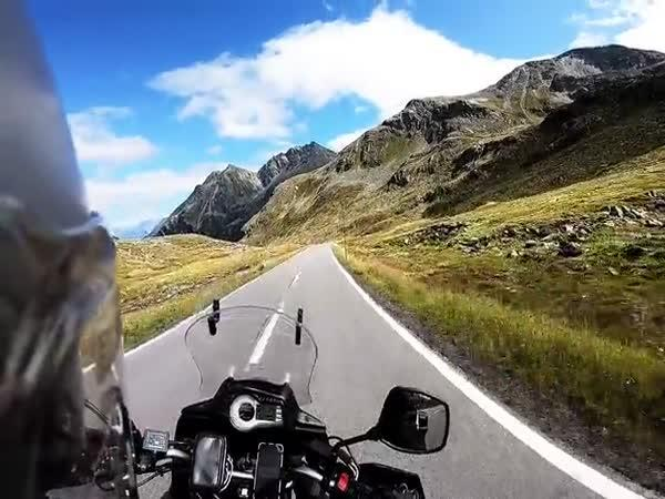 Alpy trip na motorce