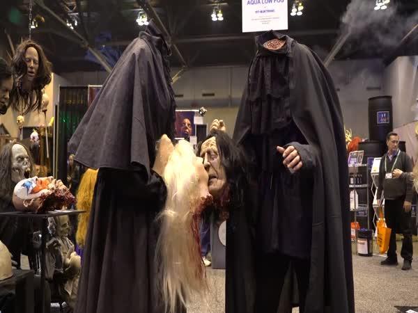 Vše děsivé na Halloween 2018