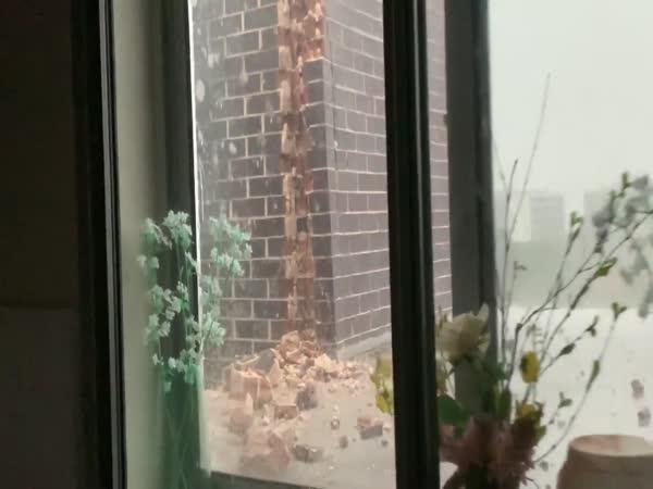 Velmi silná bouřka v Austrálii
