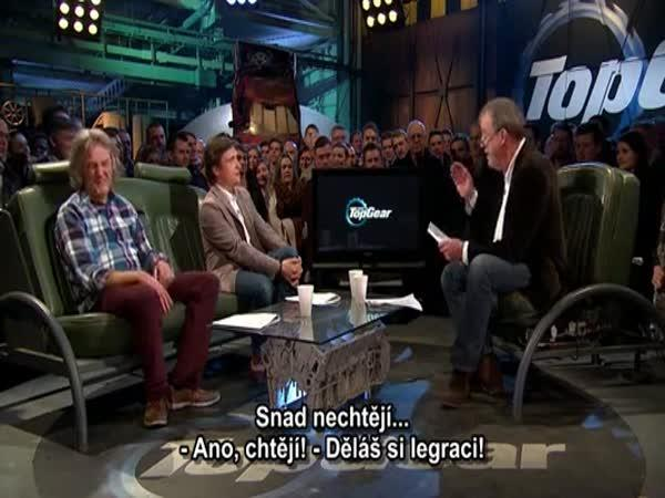 Top Gear - Dopis od Madame Tussaud