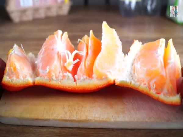 Jak bleskově oloupat pomeranč