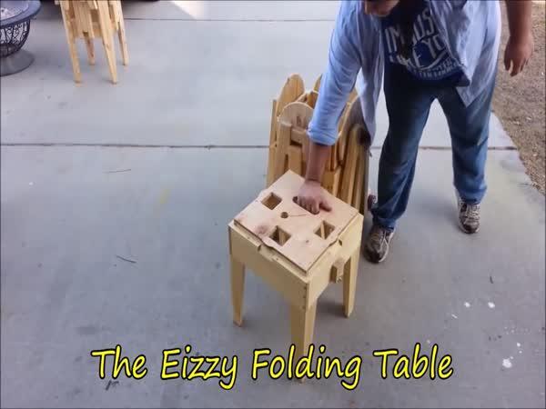 Piknikový stůl během 10 sekund