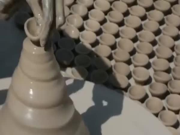 Jak pracuje indický hrnčíř