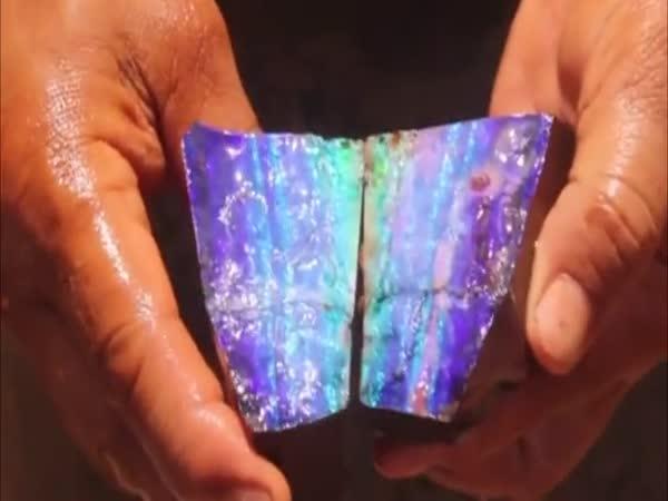 Najít takový opál je zážitek na celý život