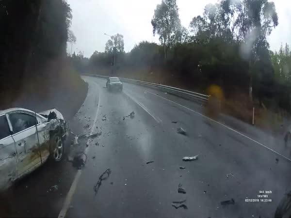 Nehoda - Řidič v protisměru