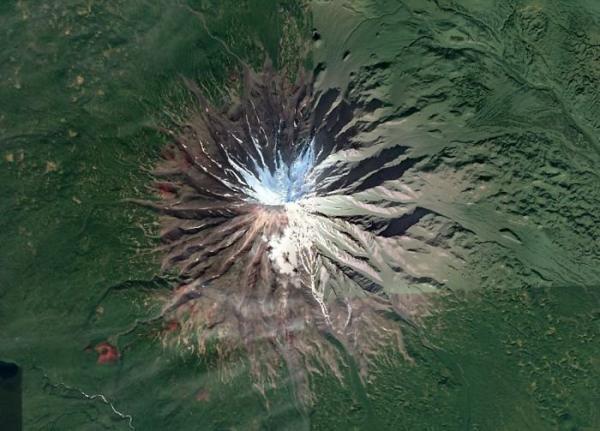 GALERIE - Zajímává místa z Google Earth