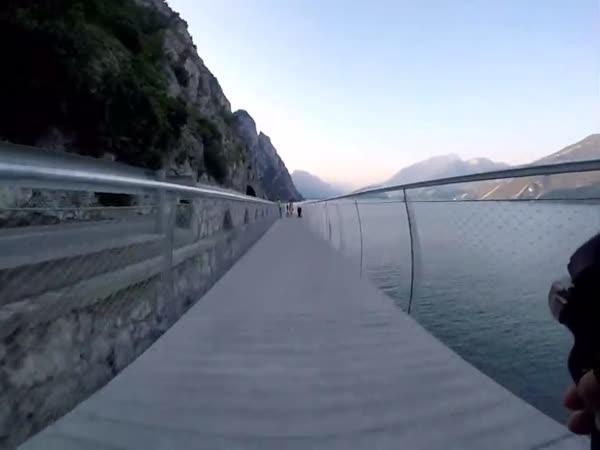 Lago di Garda - Nová cyklotrasa u jezera
