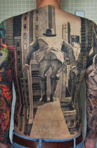 GALERIE – Realistická 3D tetování