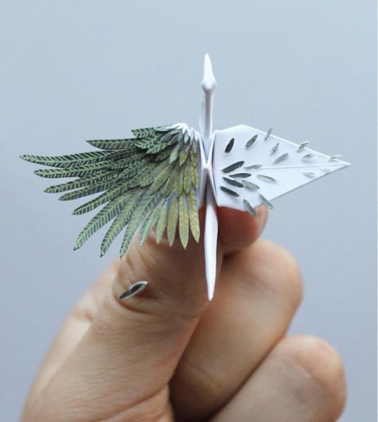 GALERIE - 10 úžasných origami jestřábů