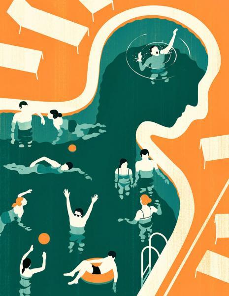 GALERIE - Ilustrace zachycující sociální problémy
