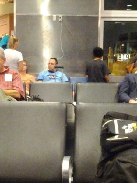 GALERIE – I na letišti můžete zažít skvělé věci