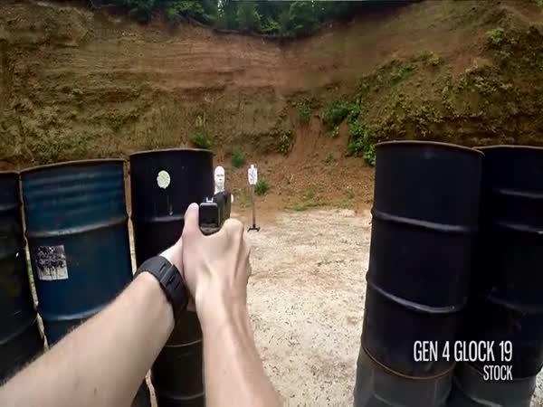 Rychlá střelba z Glocku
