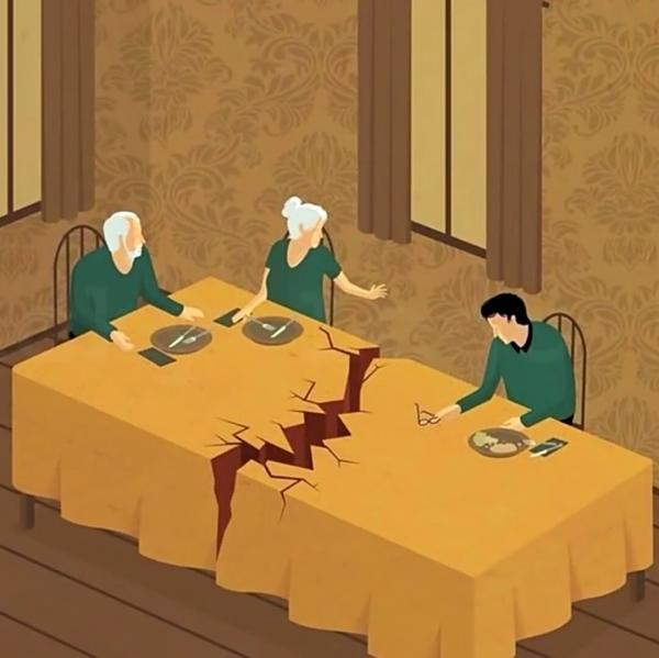 GALERIE - Ilustrace, ukazující problémy této doby