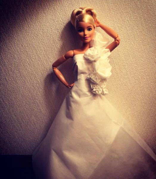 GALERIE - Originální svatební šaty pro panenku