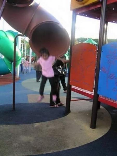 GALERIE - Zde si měly hrát děti!