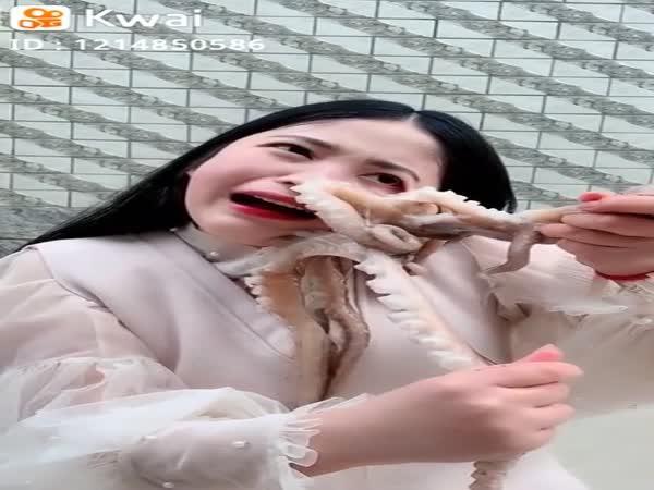 Ženu napadla chobotnice