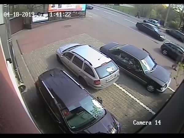 Další talent na parkování