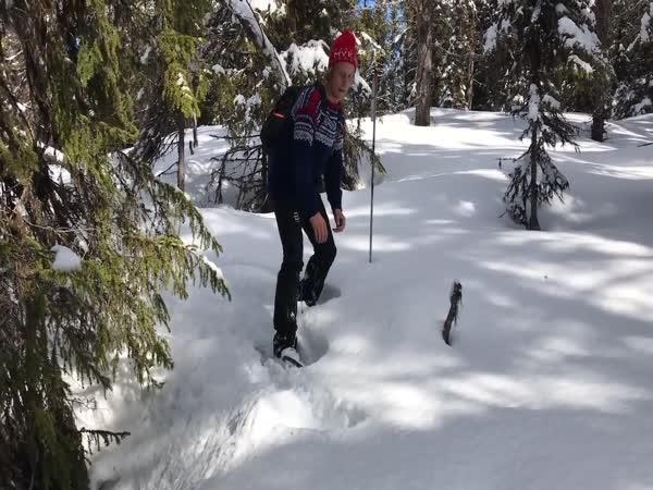 Překvápko pod sněhem