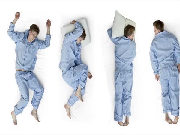Nejlepší poloha při spaní