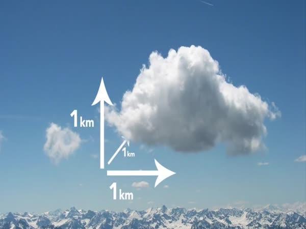Z čeho se skládá mrak?