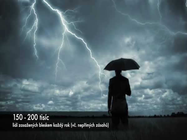 Co se nám stane při zásahu bleskem