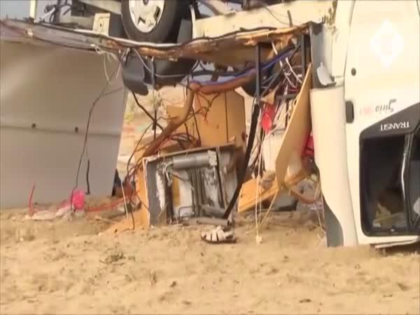 Bouřka v Řecku zabila 2 české turisty