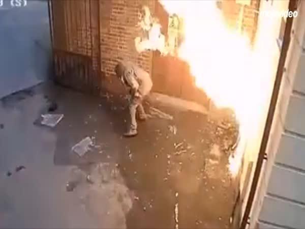 51letý podpalovač a jeho instantní karma
