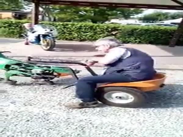 Když se důchodce nudí