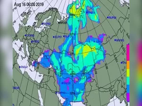 Únik radiace v severním Rusku