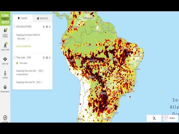 Proč hoří Amazonský prales