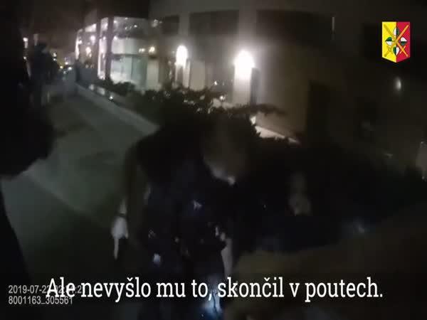 Praha - Zatýkání dealerů kokainu