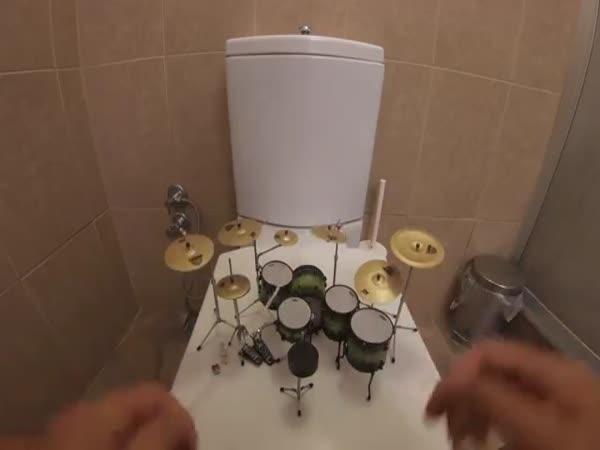 Miniaturní bicí!