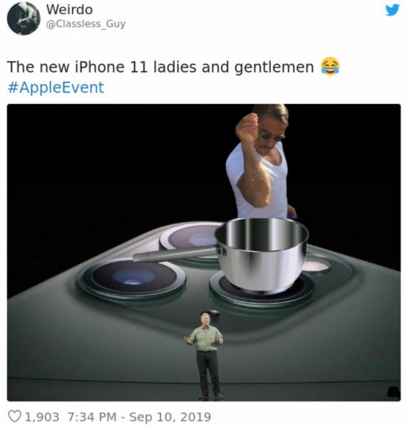 GALERIE - Reakce na nový Iphone 11