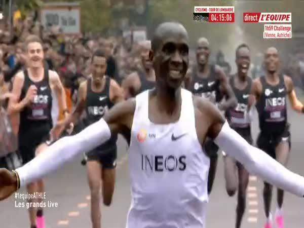 Maraton poprvé pod 2 hodiny