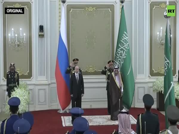 Putin v Saudské Arábii