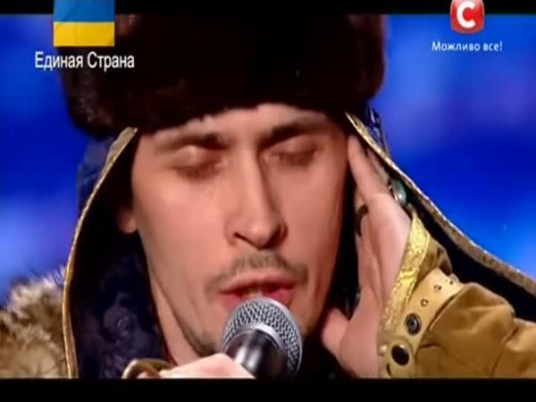 Sibiřský bohatýr v Ukrajina má talent