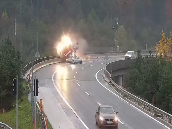 Tragická nehoda na Slovinsku