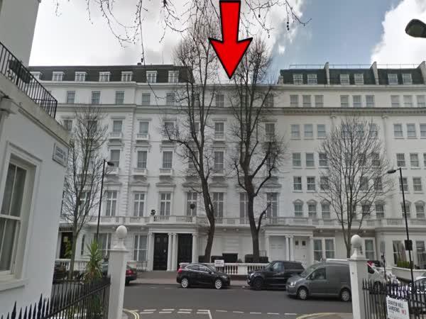 Falešné domy v Londýně