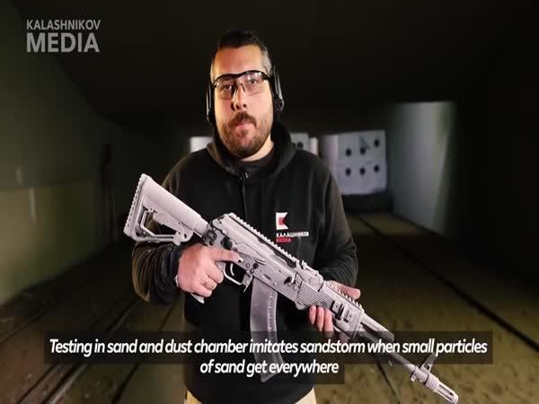 Testování nového AK