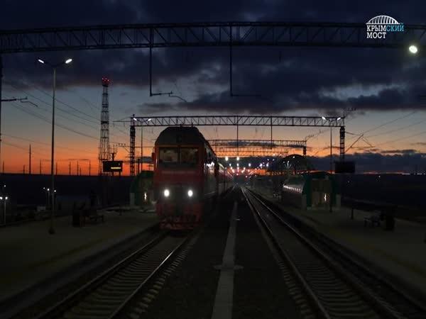 Slavnostní otevření Krymského mostu