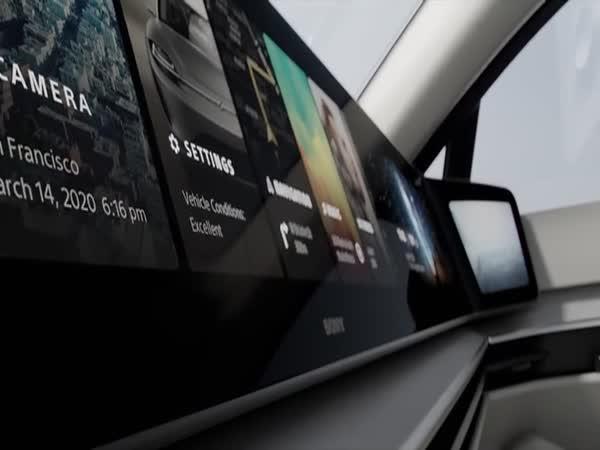 Nový elektromobil značky Sony